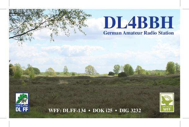 QSL image for DL4BBH