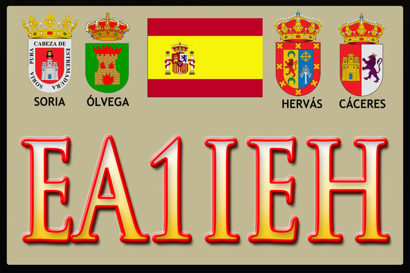 QSL image for EA1IEH