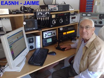 QSL image for EA5NH