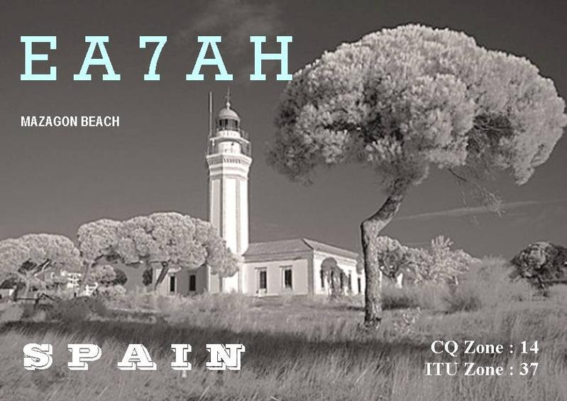 QSL image for EA7AH