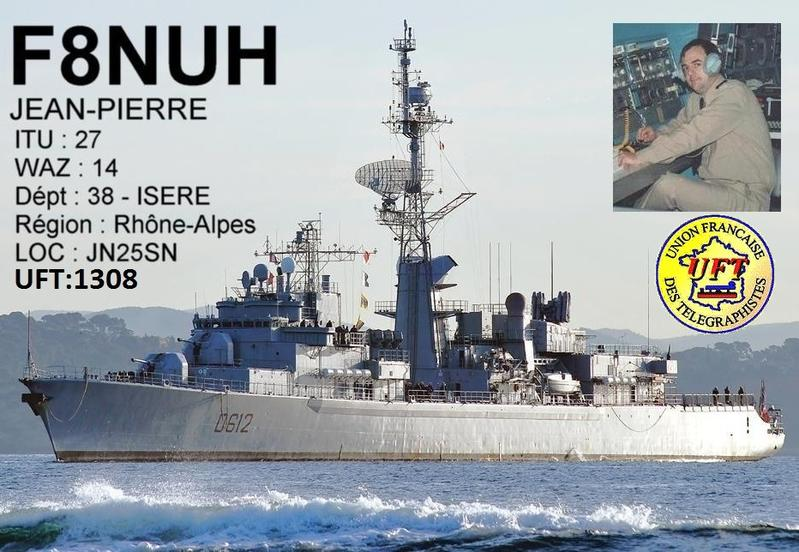 QSL image for F8NUH