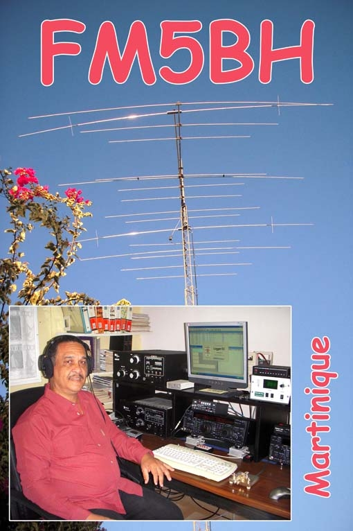 QSL image for FM5BH