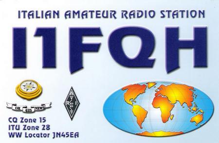 QSL image for I1FQH