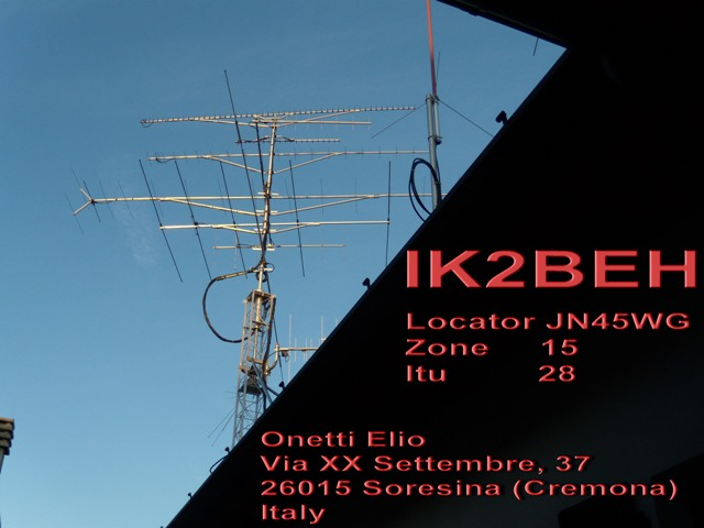 QSL image for IK2BEH