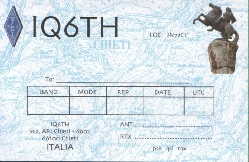 QSL image for IQ6TH