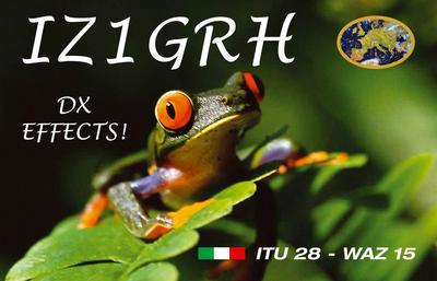 QSL image for IZ1GRH