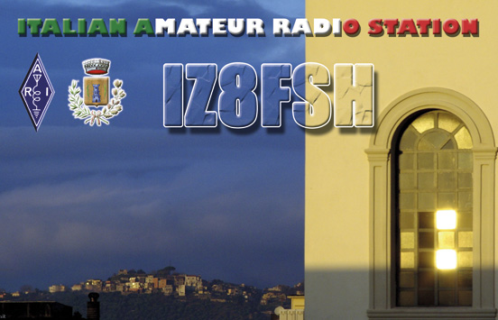 QSL image for IZ8FSH