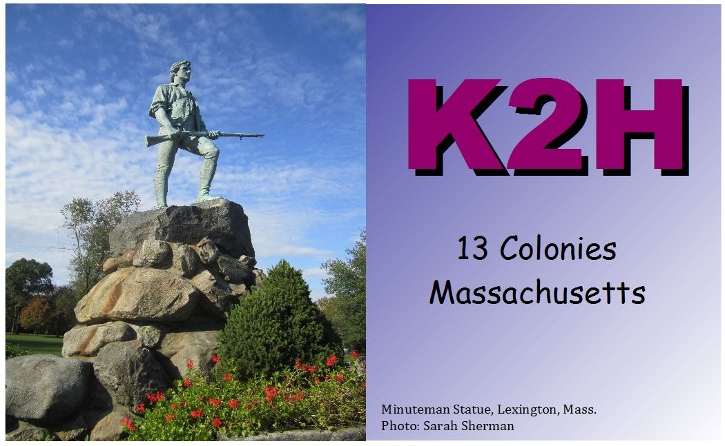 QSL image for K2H
