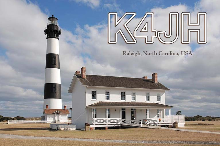 QSL image for K4JH