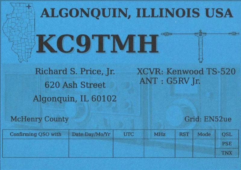 QSL image for KC9TMH