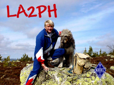QSL image for LA2PH