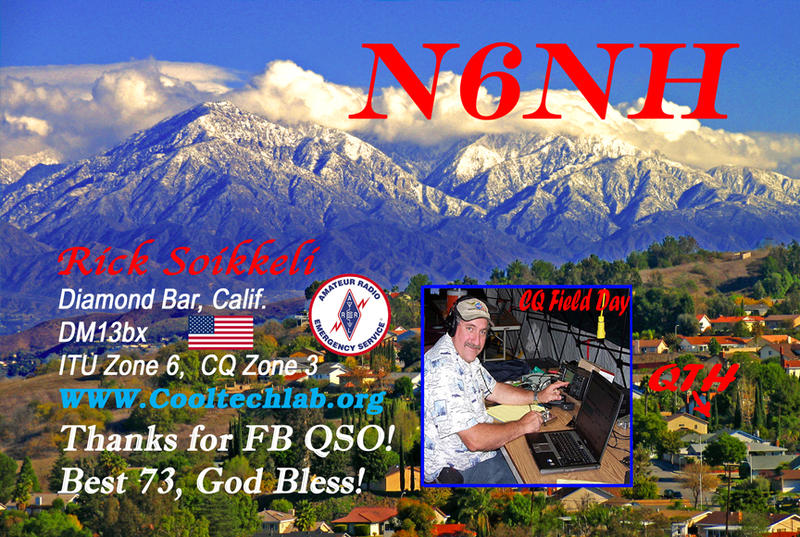 QSL image for N6NH