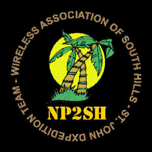 QSL image for NP2SH