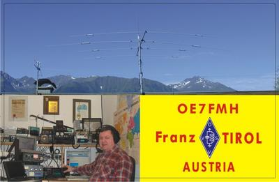 QSL image for OE7FMH