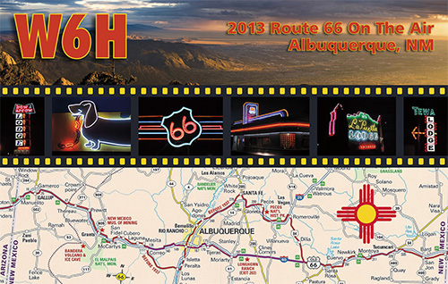QSL image for W6H