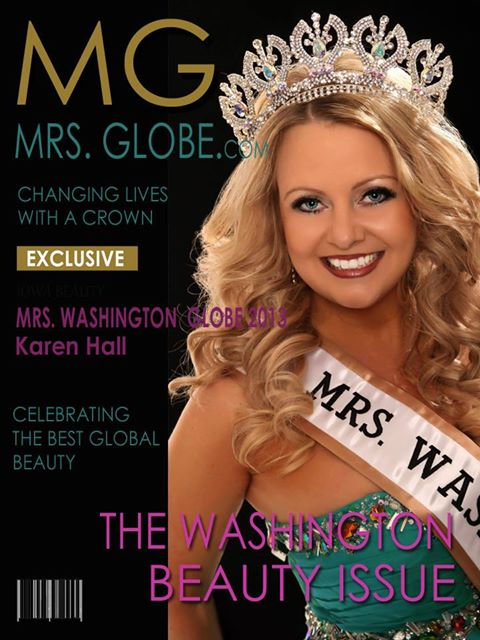 My daughter, Mrs. Washington, Globe