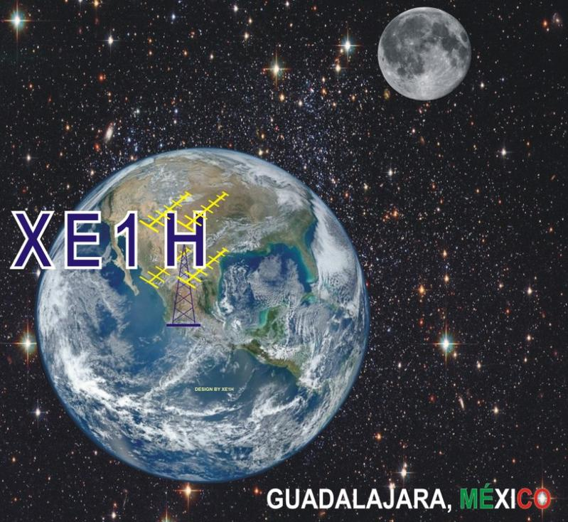 QSL image for XE1H