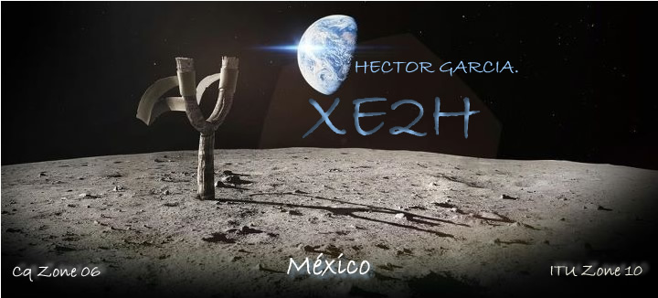 QSL image for XE2H