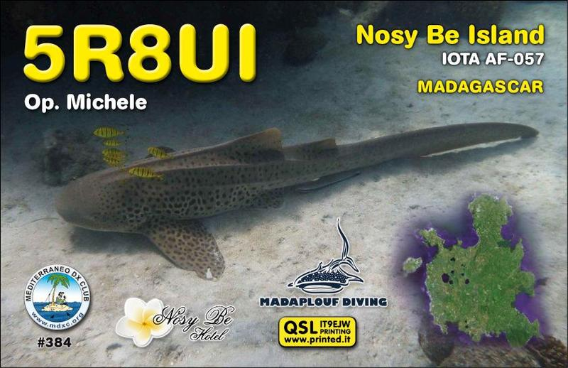 QSL image for 5R8UI