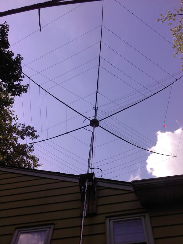 My new Hex Beam 30 Feet Up