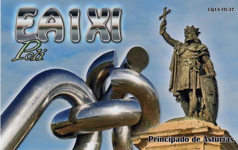 QSL image for EA1XI