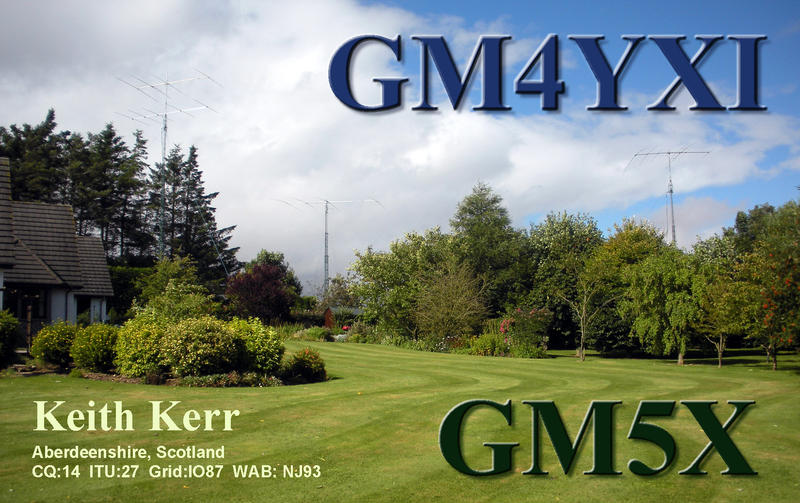 QSL image for GM4YXI