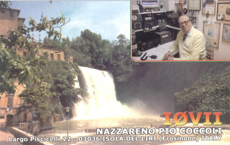 QSL image for I0VII