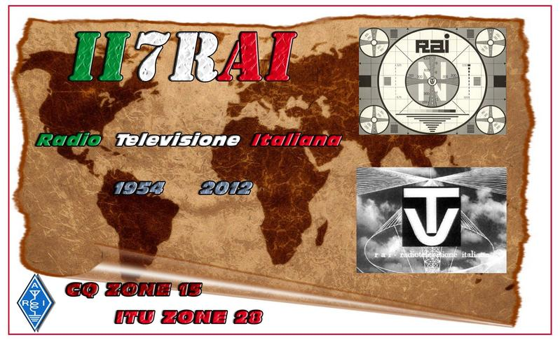 QSL image for II7RAI