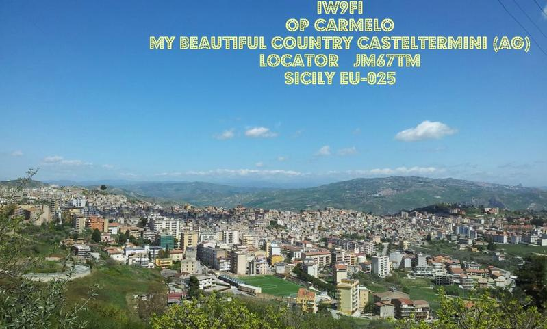 QSL image for IW9FI