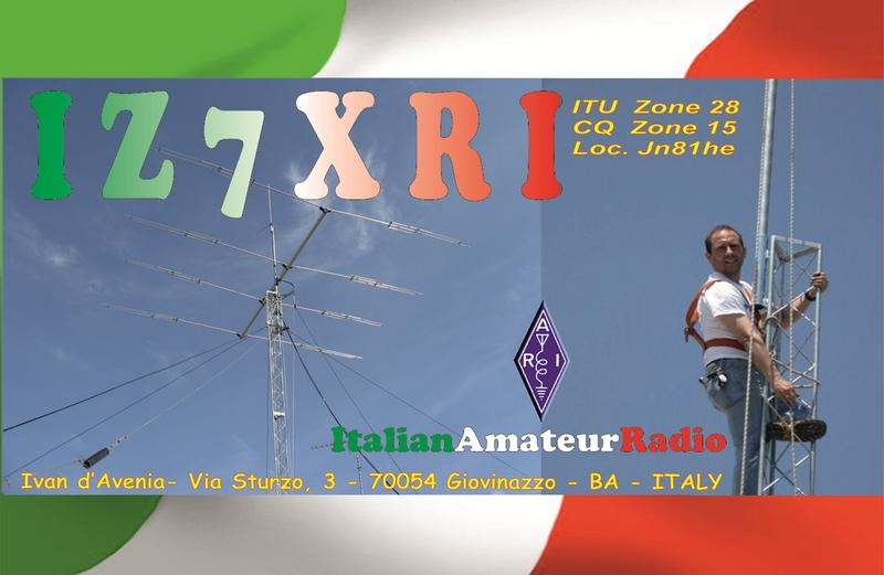 QSL image for IZ7XRI
