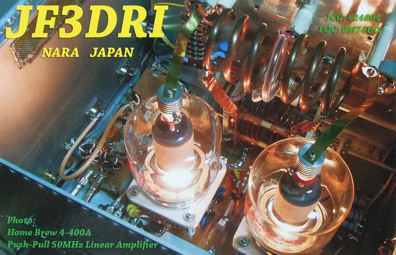 QSL image for JF3DRI