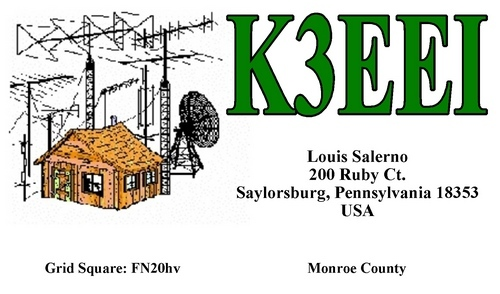 QSL image for K3EEI