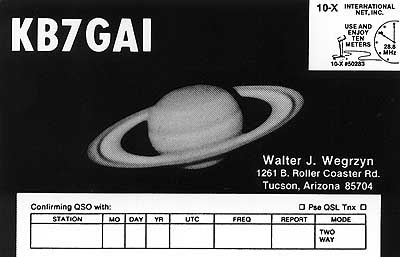 QSL image for KB7GAI