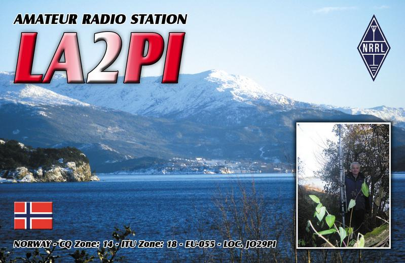 QSL image for LA2PI