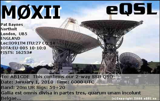 QSL image for M0XII