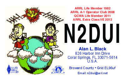 QSL image for N2DUI