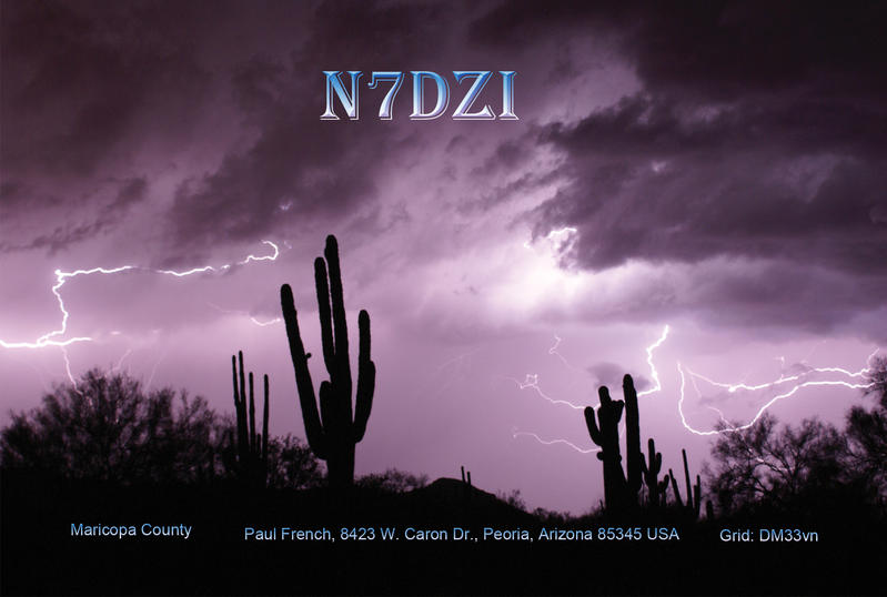QSL image for N7DZI