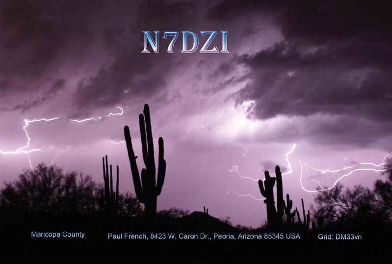 QSL image for N7DZI