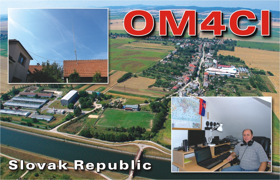QSL image for OM4CI