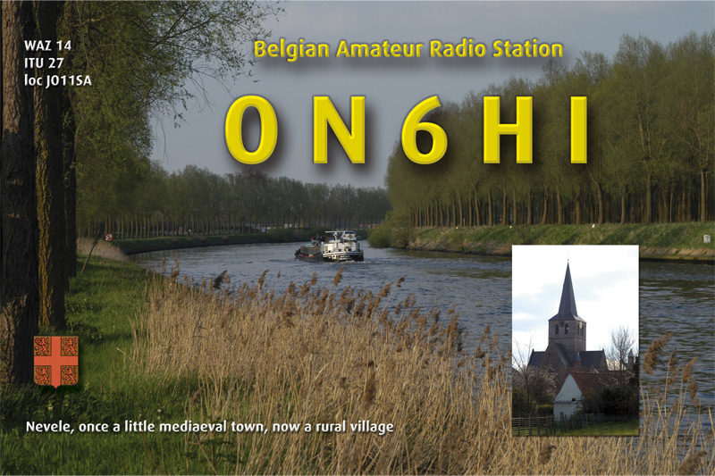 QSL image for ON6HI