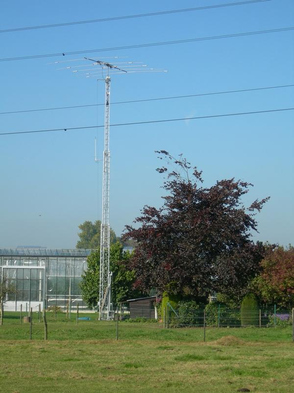 Telescoping aluminium tower De Kerf, 18 meter h