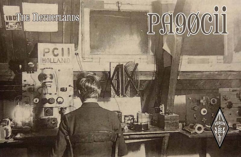 QSL image for PA90CII