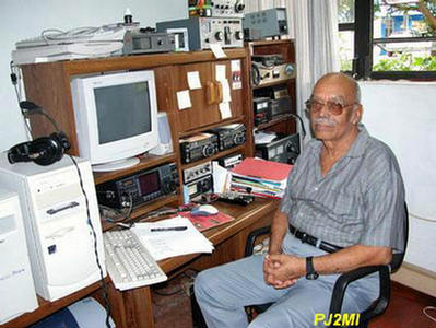 QSL image for PJ2MI