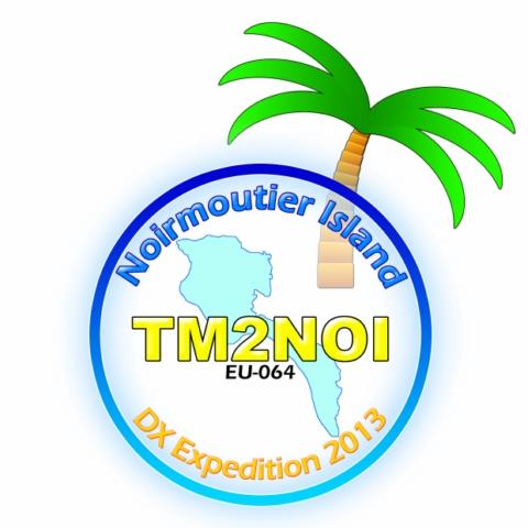 TM2NOI, в эфире из Noirmoutier Island - ЕU-064