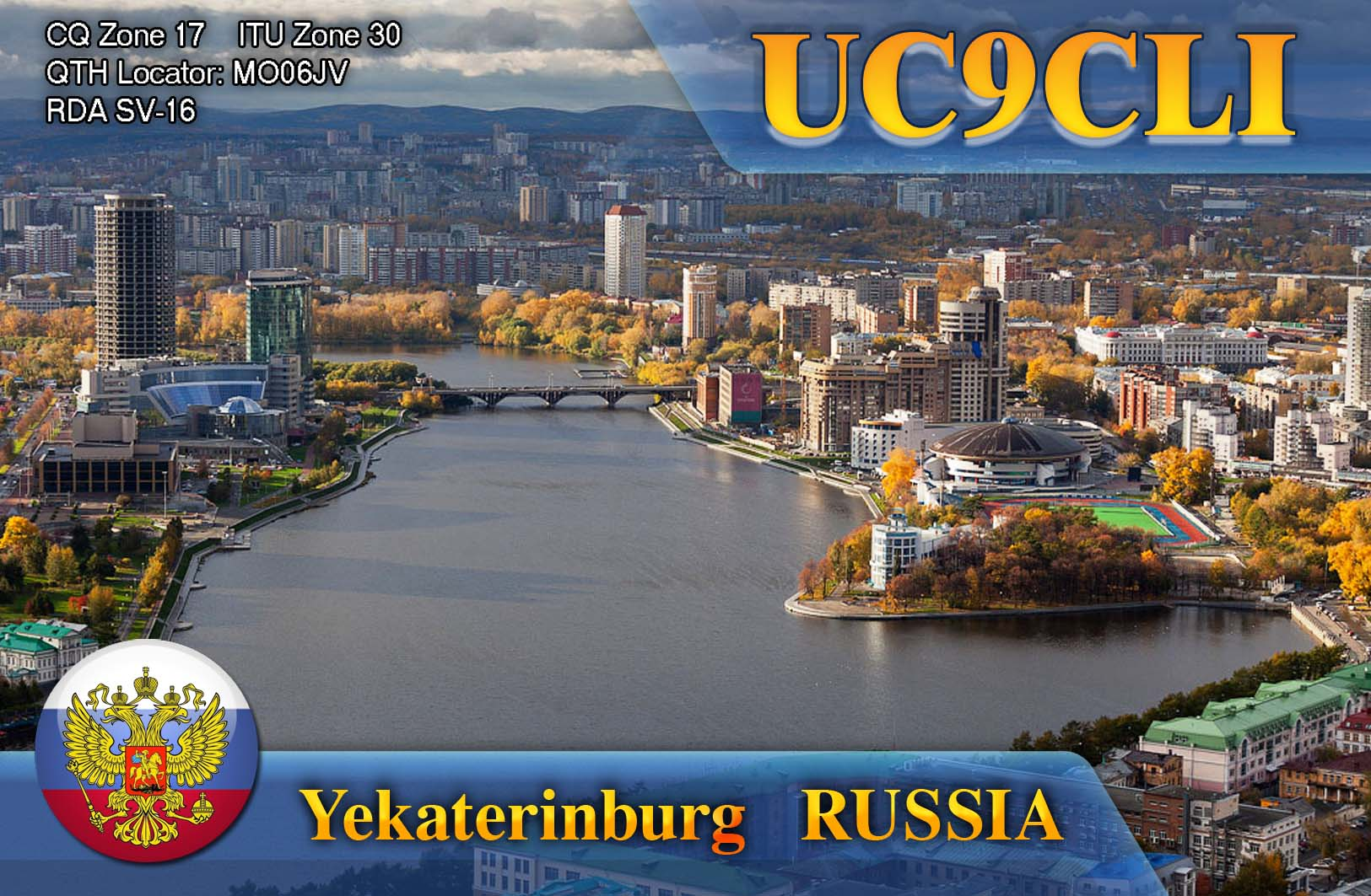 QSL image for UC9CLI