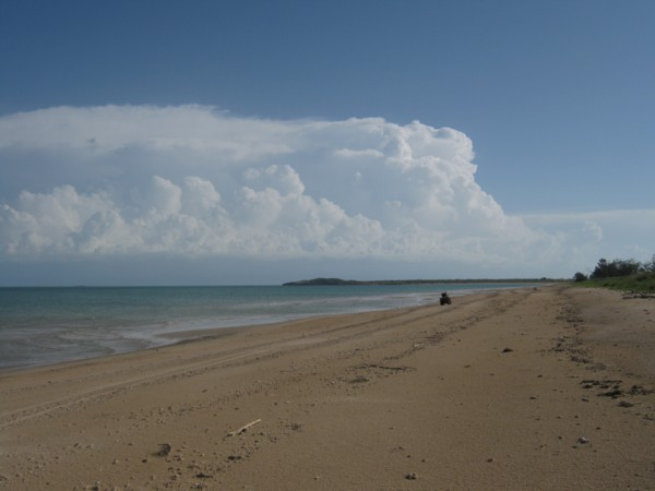 Monsoon Storm off Sweers Island