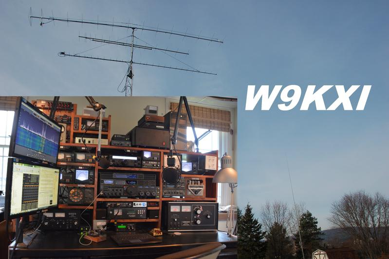 QSL image for W9KXI