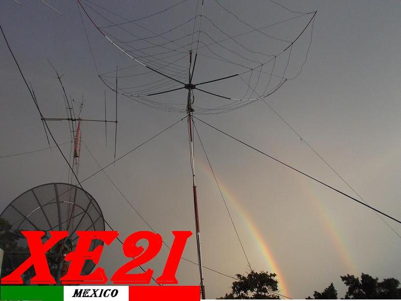 QSL image for XE2I