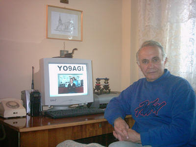 QSL image for YO9AGI
