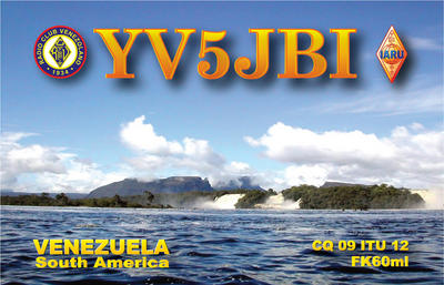 QSL image for YV5JBI